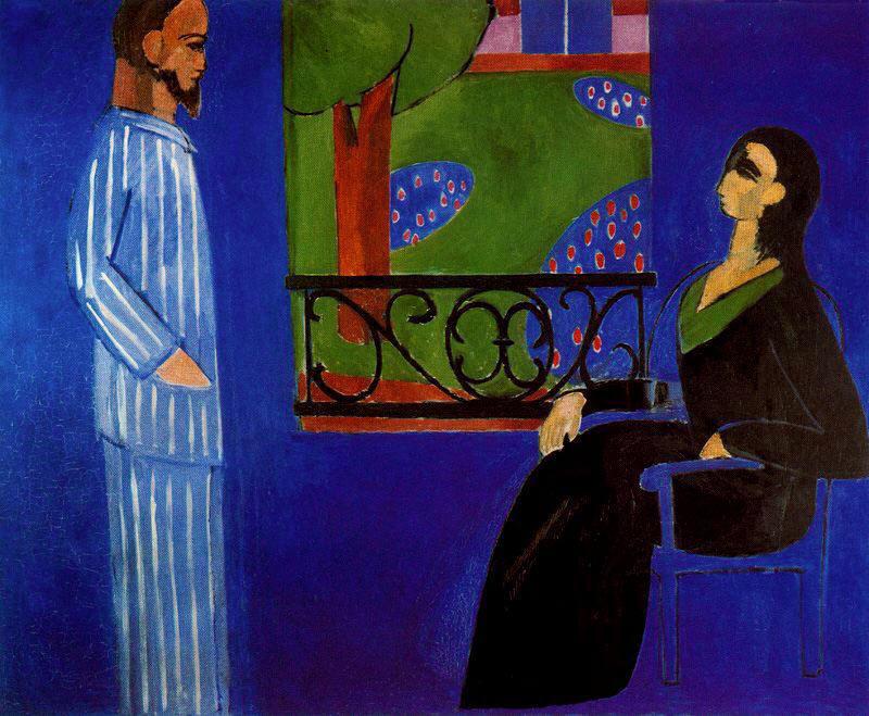 La conversación. Henri Matisse (1909-1912)